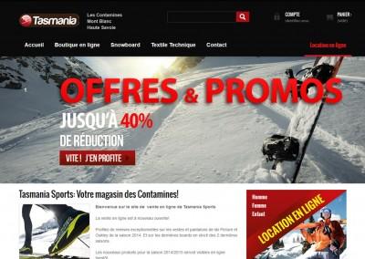 Tasmania Sports – Vente en ligne