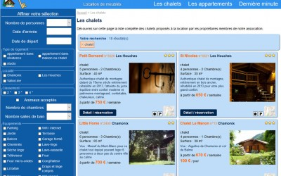 Association propriétaires vallées de Chamonix