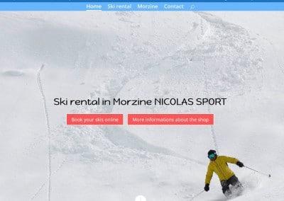 Nicolas Sport Morzine
